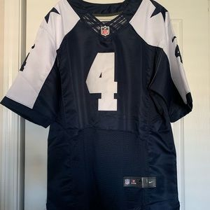 Dallas Cowboys-  Dak Prescott Jersey